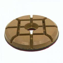 4 inch hybrid bond resin concrete floor polishing pucks
