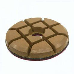 4 inch hybrid bond resin concrete floor polishing pucks 1
