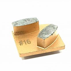 16 grit diamond segment medium bond redi lock concrete grinding shoe