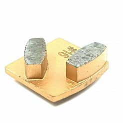16 grit medium bond redi lock husqvarna 4 16 Grit Diamond Segments Concrete Grinding Shoes Husqvarna Redi Lock compatible shape LeBurg Diamond Tools
