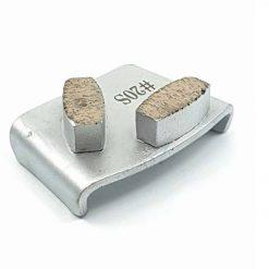20 grit soft bond ezchange htc 2 20 Grit Diamond Segments Ezchange compatible shape LeBurg Diamond Tools