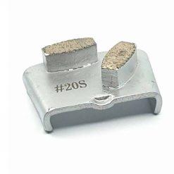 20 grit diamond segment ezchange concrete grinding shoes