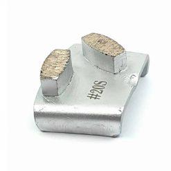 20 grit soft bond ezchange htc 7 20 Grit Diamond Segments Ezchange compatible shape LeBurg Diamond Tools