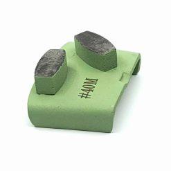 40 grit medium bond ezchange htc 2 40 Grit Diamond Segments Concrete Grinding Shoes Ezchange compatible shape LeBurg Diamond Tools