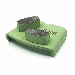 40 grit medium bond ezchange htc 3 40 Grit Diamond Segments Concrete Grinding Shoes Ezchange compatible shape LeBurg Diamond Tools