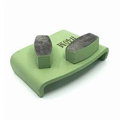 40 grit medium bond ezchange htc 4 40 Grit Diamond Segments Concrete Grinding Shoes Ezchange compatible shape LeBurg Diamond Tools