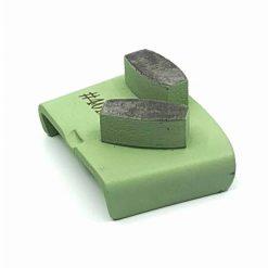 40 grit medium bond ezchange htc 5 40 Grit Diamond Segments Concrete Grinding Shoes Ezchange compatible shape LeBurg Diamond Tools