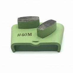 40 grit medium bond ezchange htc 6 40 Grit Diamond Segments Concrete Grinding Shoes Ezchange compatible shape LeBurg Diamond Tools