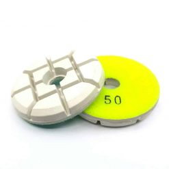 50 grit resin bond pucks 1 Resin Bond Concrete Floor Polishing Pucks LeBurg Diamond Tools