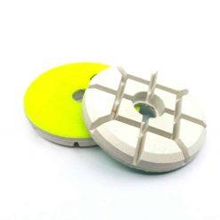 50 grit resin pucks 4 Resin Bond Concrete Floor Polishing Pucks LeBurg Diamond Tools