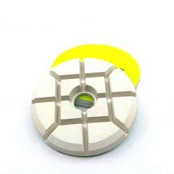 50 grit resin pucks 5 Resin Bond Concrete Floor Polishing Pucks LeBurg Diamond Tools