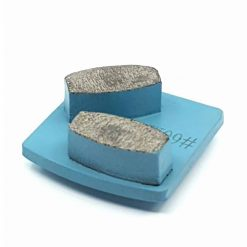 60 grit soft bond concrete grinding shoes