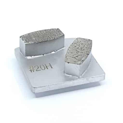 concrete grinding segment 20 grit hard bond redi lock husqvarna shape