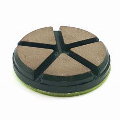 1 4 Ceramic Diamond Bond Concrete Floor Polishing Pucks LeBurg Diamond Tools