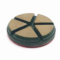 1 5 Ceramic Diamond Bond Concrete Floor Polishing Pucks LeBurg Diamond Tools