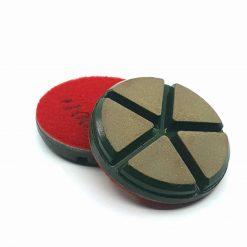 100 grit ceramic puck 2 Ceramic Diamond Bond Concrete Floor Polishing Pucks LeBurg Diamond Tools