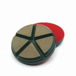 100 grit ceramic puck 3 Ceramic Diamond Bond Concrete Floor Polishing Pucks LeBurg Diamond Tools