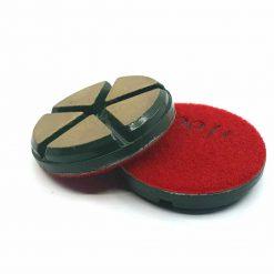 100 grit ceramic puck 4 Ceramic Diamond Bond Concrete Floor Polishing Pucks LeBurg Diamond Tools