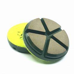 50 grit ceramic puck 2 Ceramic Diamond Bond Concrete Floor Polishing Pucks LeBurg Diamond Tools