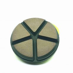 50 grit ceramic puck 3 Ceramic Diamond Bond Concrete Floor Polishing Pucks LeBurg Diamond Tools