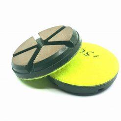 50 grit ceramic puck 4 Ceramic Diamond Bond Concrete Floor Polishing Pucks LeBurg Diamond Tools