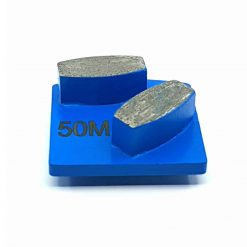 50 grit medium 1 50 Grit Diamond Segments Concrete Grinding Shoes Husqvarna Redi Lock compatible LeBurg Diamond Tools