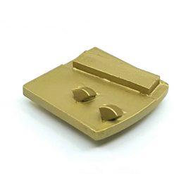pcd 10 PCD Tungsten Scrapers Adhesive Removal Husqvarna Redi Lock compatible shape LeBurg Diamond Tools