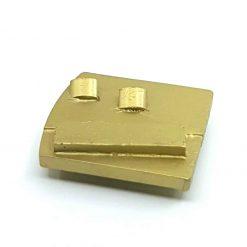 pcd 20 PCD Tungsten Scrapers Adhesive Removal Husqvarna Redi Lock compatible shape LeBurg Diamond Tools