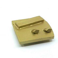 pcd 5 PCD Tungsten Scrapers Adhesive Removal Husqvarna Redi Lock compatible shape LeBurg Diamond Tools