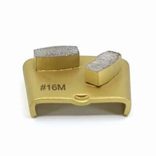 1 2 16 Grit Diamond Segments Ezchange compatible shape LeBurg Diamond Tools