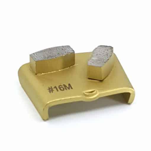 24 2 16 Grit Diamond Segments Ezchange compatible shape LeBurg Diamond Tools